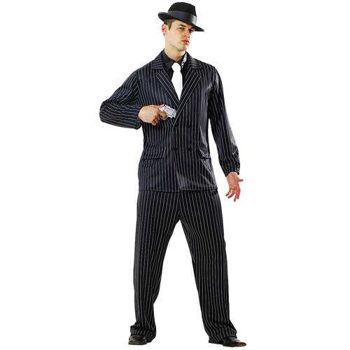 Gin Mill Gangster Costume, XL