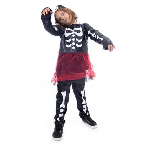 Spooky Skeleton Halloween Costume, Small