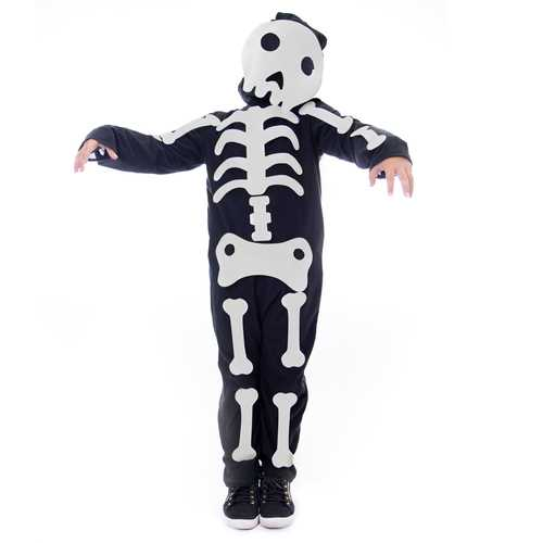 Make Your Own Skeleton Halloween Costume, Small