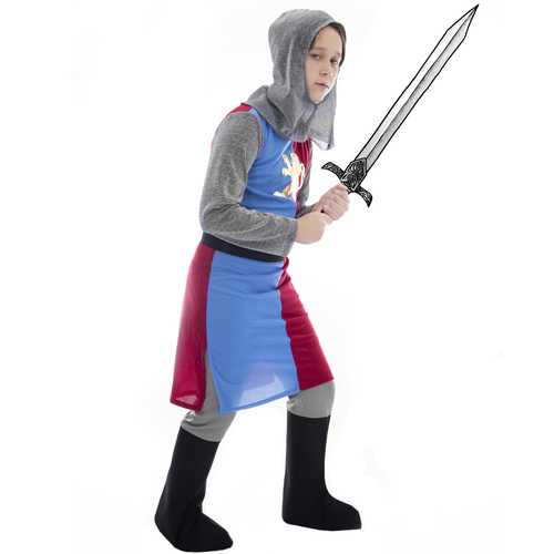 Noble Knight Costume, 8-10