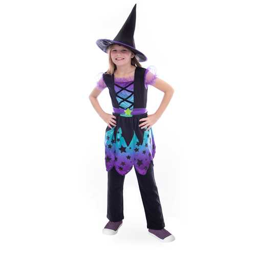 Enchanting Witch Costume, 4-6