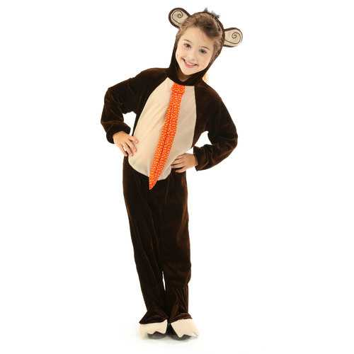 Monkey Children's Costume, 5-6