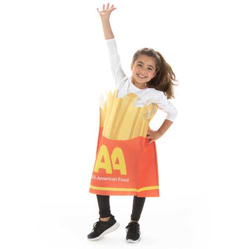 French Fries Children's Costume, 10-12
