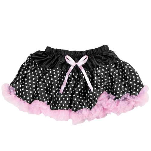 Black Polka Dot Costume Tutu