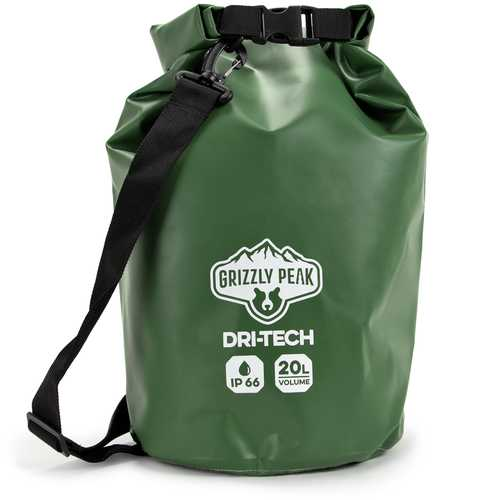 Dri-Tech Waterproof Dry Bag, 20 Liter