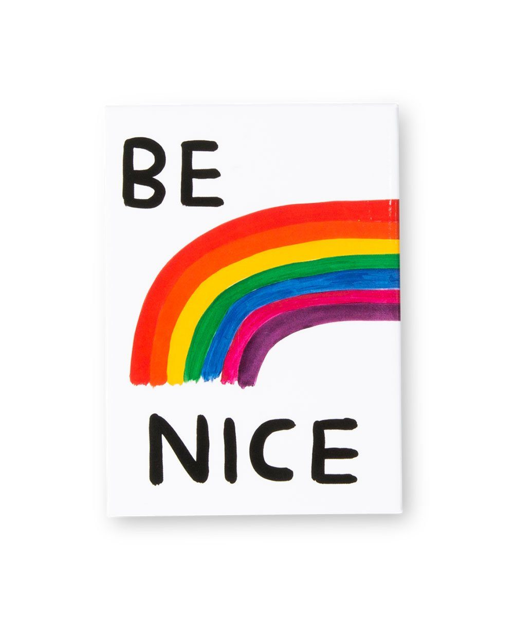 Third Drawer Down X David Shrigley, Be Nice Magnet