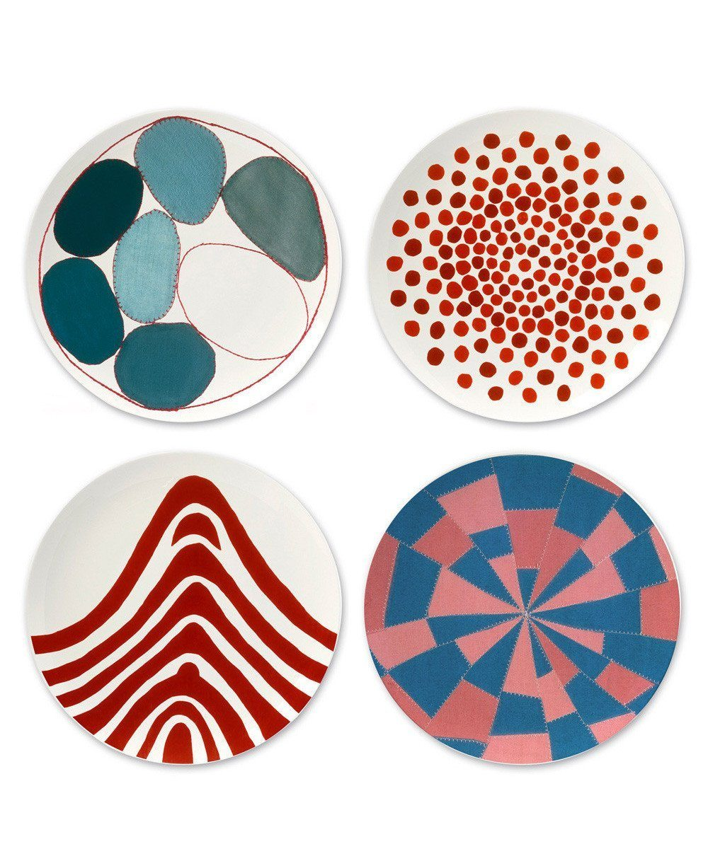 Third Drawer Down X Louise Bourgeois, Bone China Plates