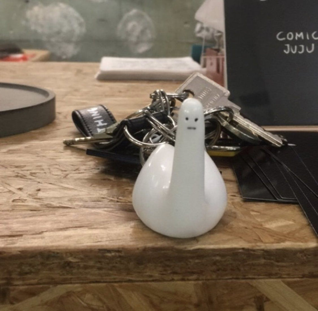 Ridiculous Swan-Thing Keyring x David Shrigley Other Third Drawer Down Studio