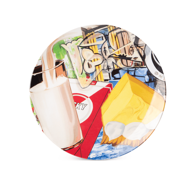 Yellow Fellow Plate x David Salle Plastic Third Drawer Down Studio Default Title