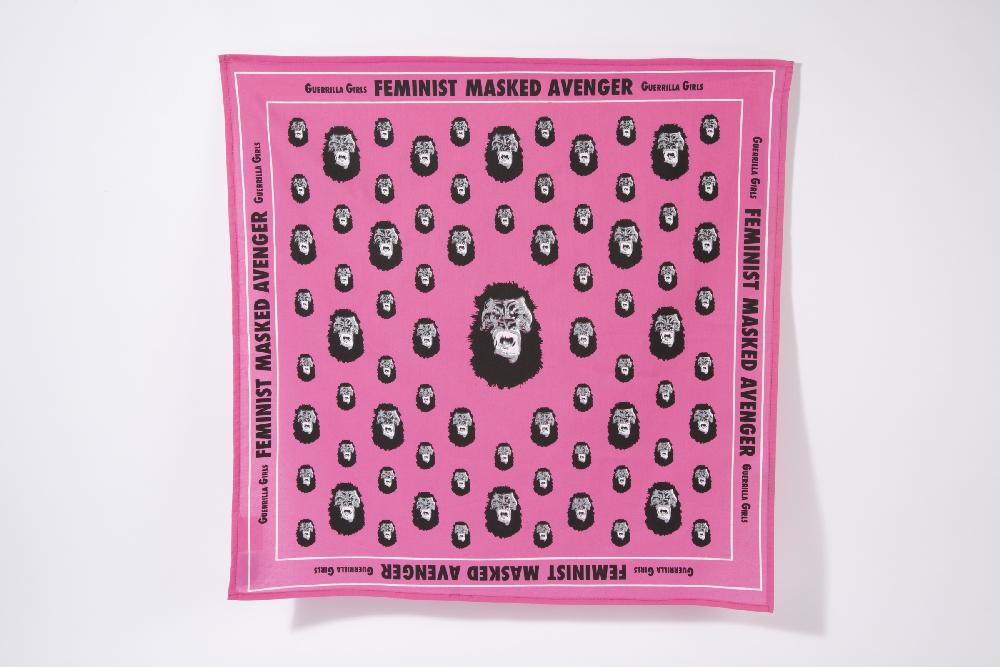 Third Drawer Down X Guerrilla Girls, Gorilla Bandana