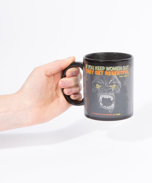 Third Drawer Down X Guerrilla Girls, Gorilla Magic Mug
