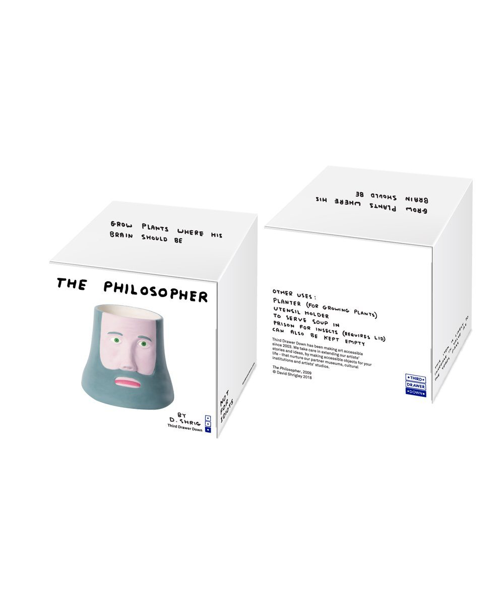 The Philosopher X David Shrigley