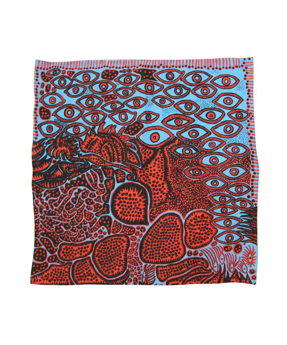 Third Drawer Down X Yayoi Kusama, EyesOf Mine Handkerchief Textiles Third Drawer Down Studio Default Title