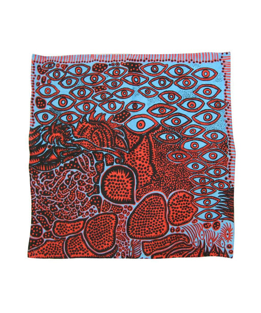 Third Drawer Down X Yayoi Kusama, EyesOf Mine Handkerchief