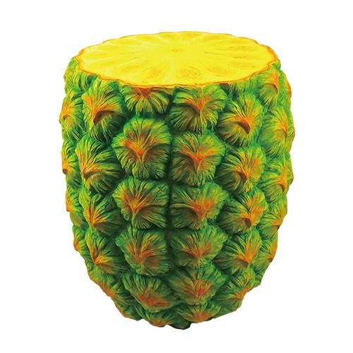 Giant Pineapple Stool Plastic Third Drawer Down USA Default