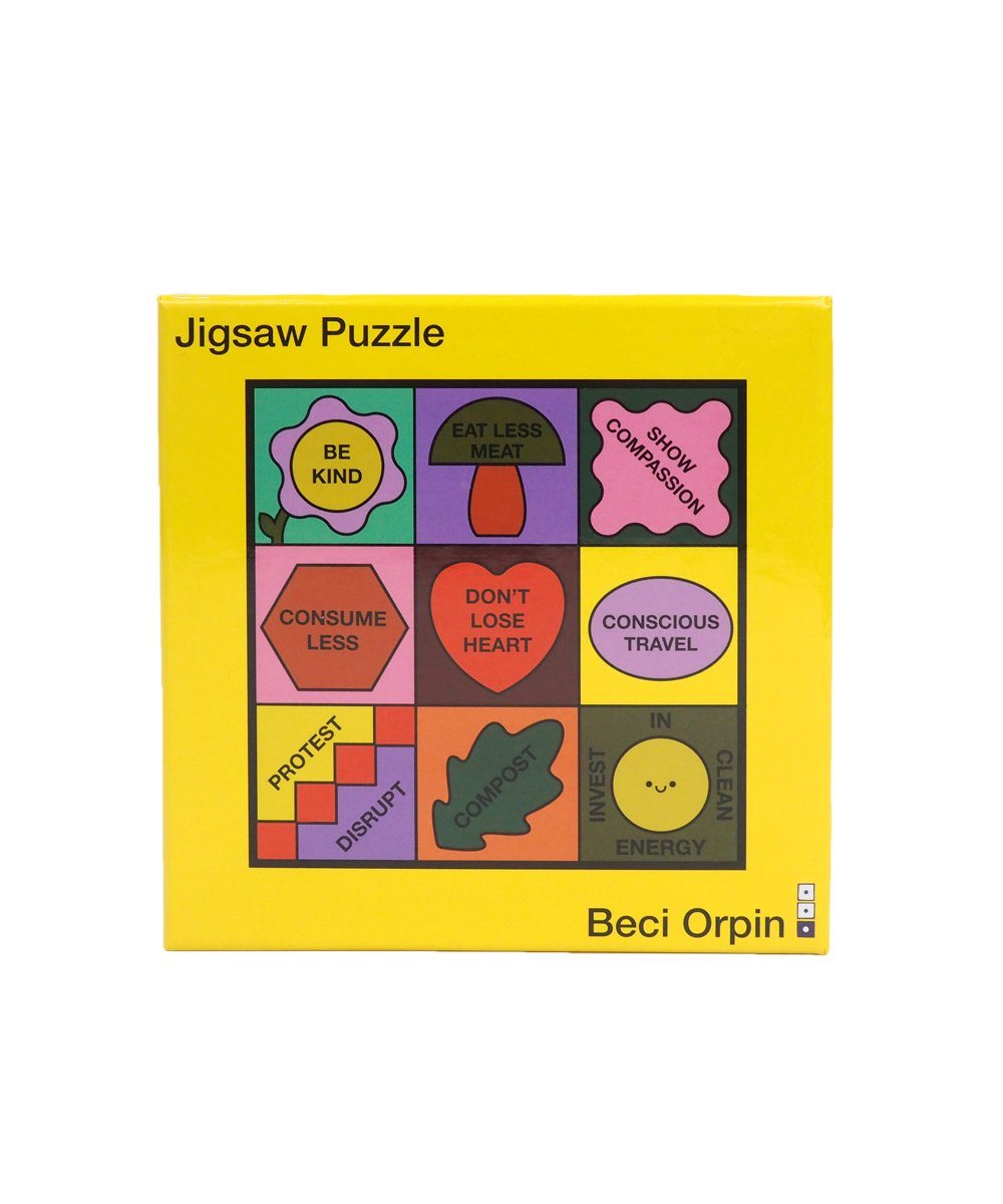 Don't Lose Heart Jigsaw Puzzle X Beci Orpin Paper Third Drawer Down Studio