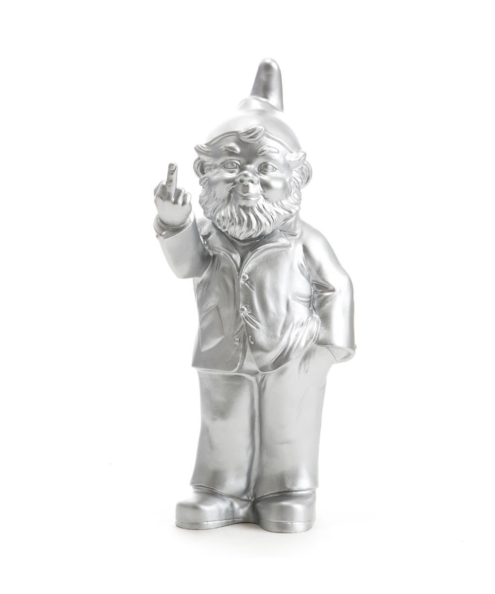 Activist Gnome Silver Plastic Third Drawer Down USA