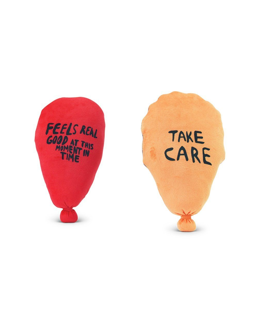 Feels Real Good Plush Balloon X Chris Johanson