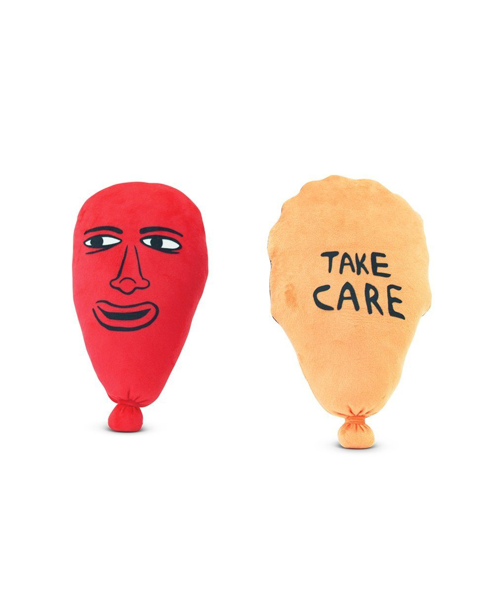 Take Care Plush Balloon X Chris Johanson Textiles Third Drawer Down Studio