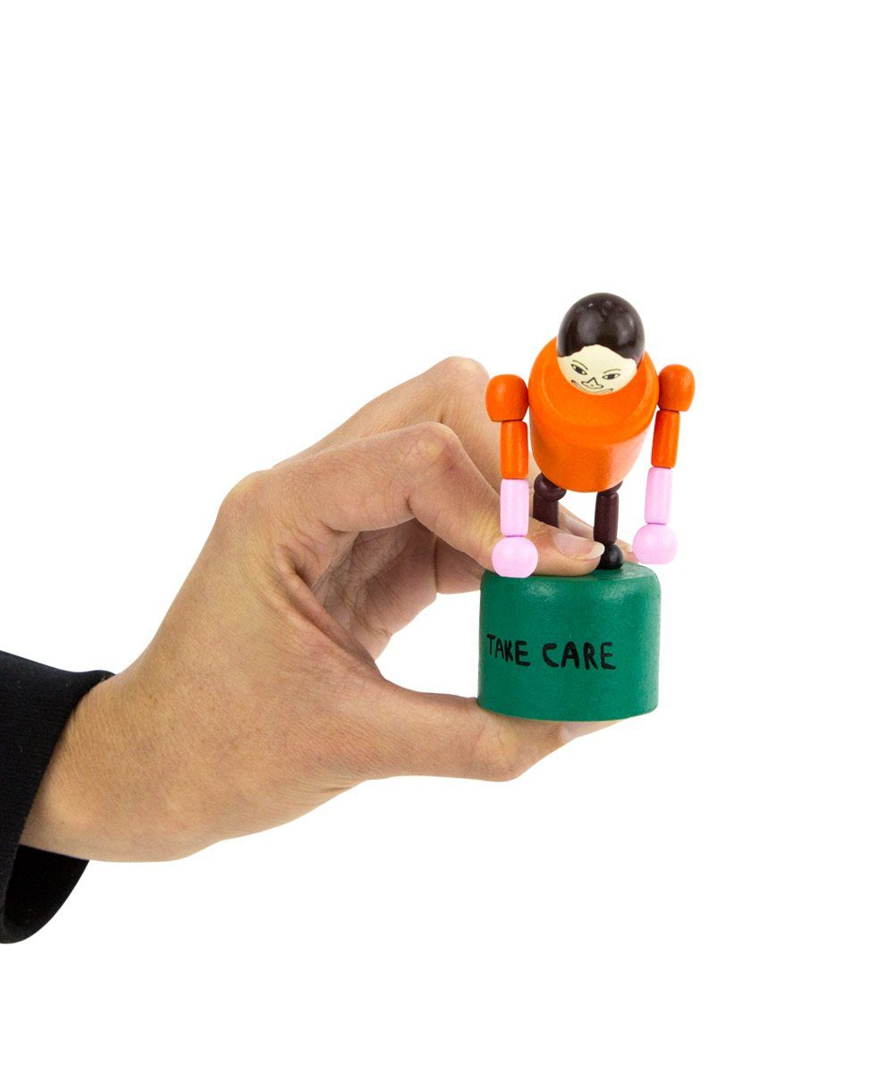 Take Care Push-Up Toy X Chris Johanson