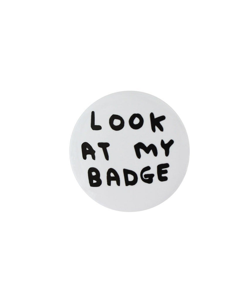 Pin Badges X David Shrigley