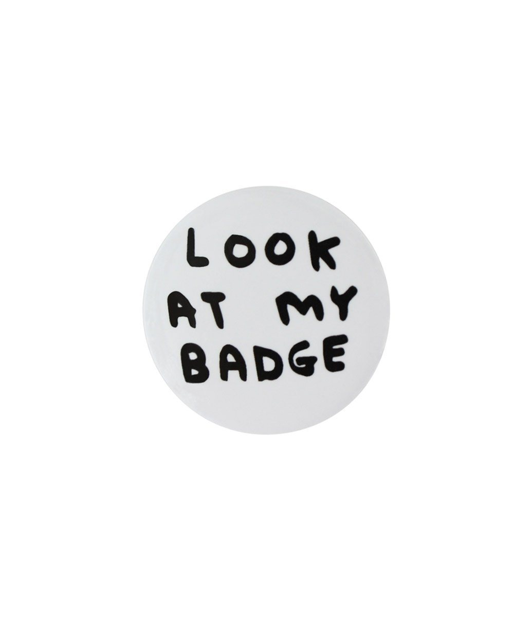 Third Drawer Down X David Shrigley, Pin Badge Set
