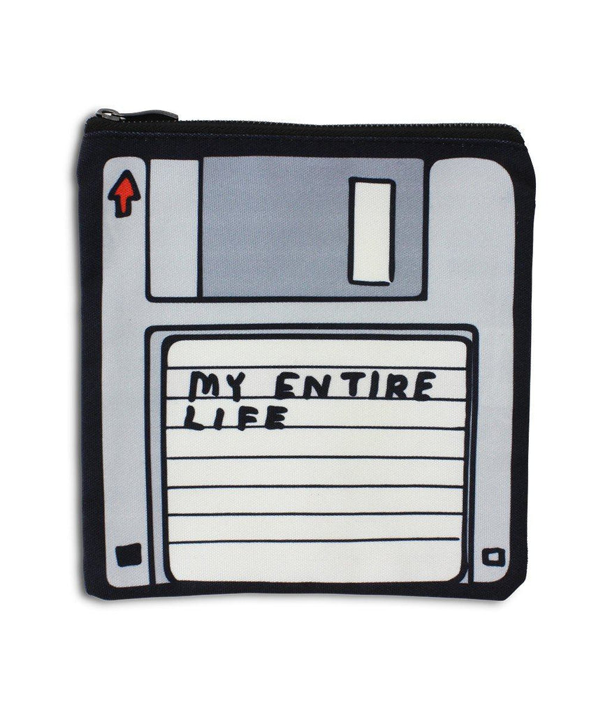 My Entire Life Pencil Case x David Shrigley