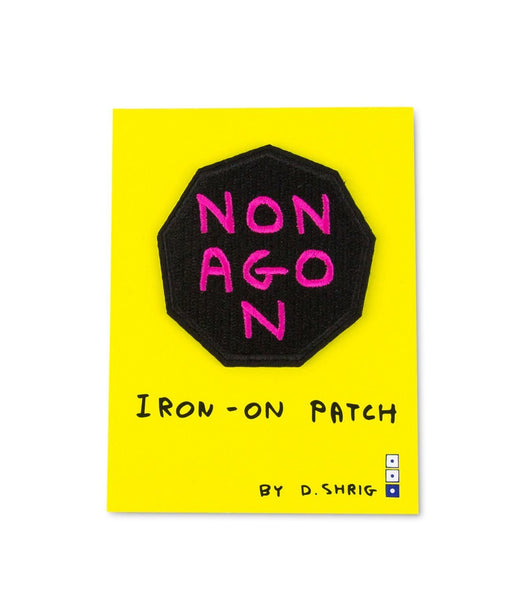 Third Drawer Down X David Shrigley, Nonagon Woven Patch Textiles Third Drawer Down Studio