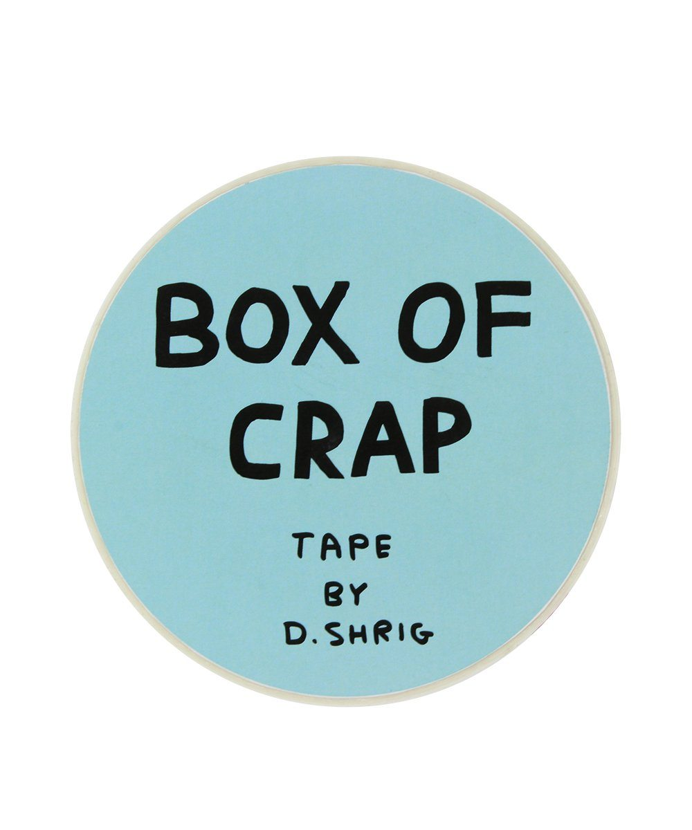 Third Drawer Down X David Shrigley, Box of Crap Packing Tape Other Third Drawer Down Studio