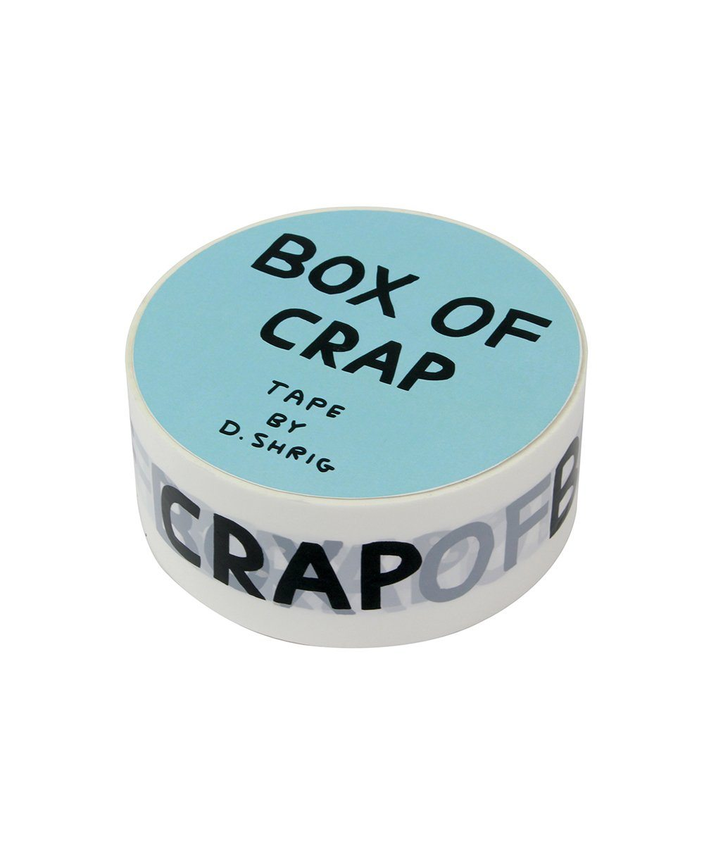 Box of Crap Packing Tape X David Shrigley