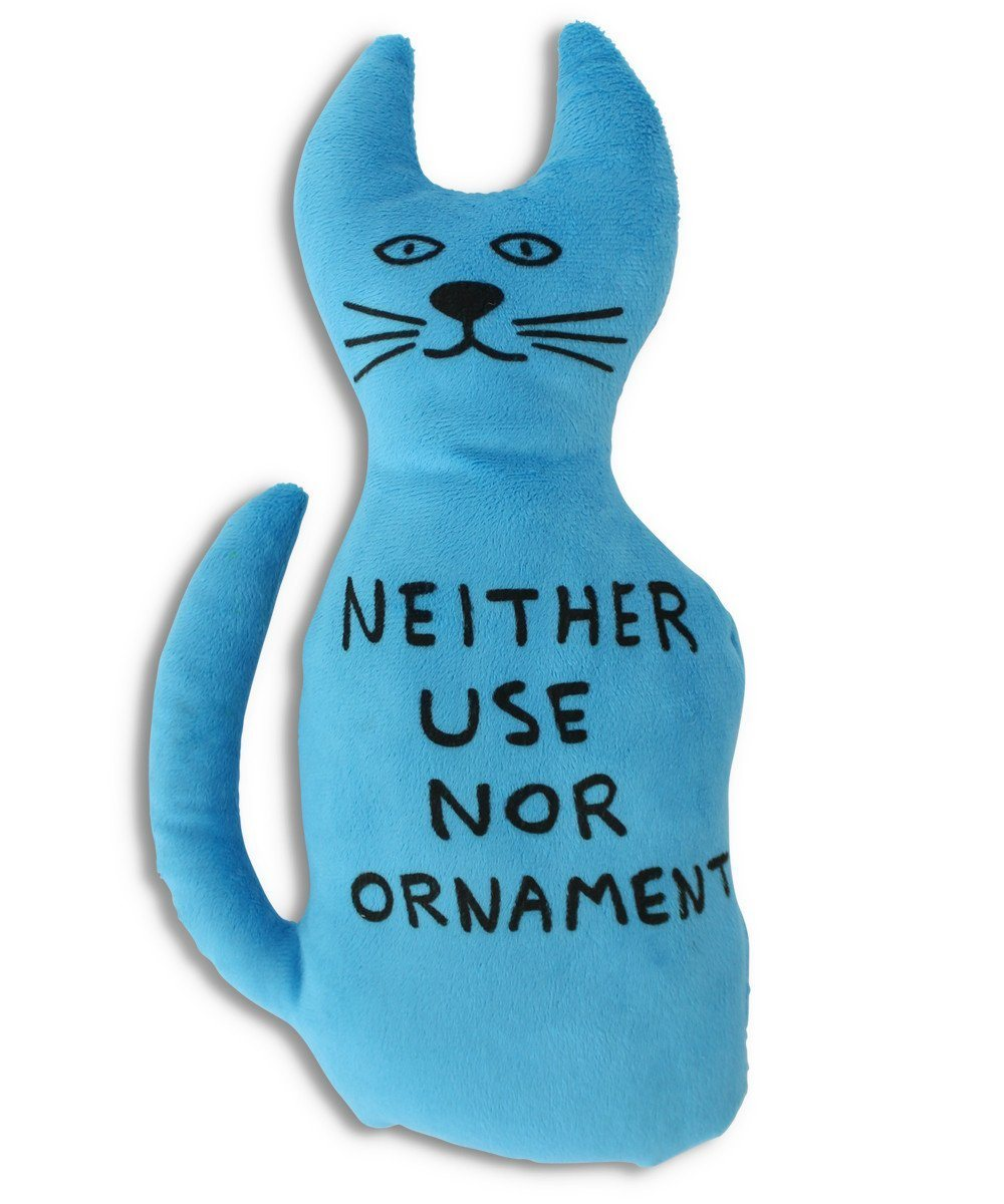 Ornament Cat Toy x David Shrigley