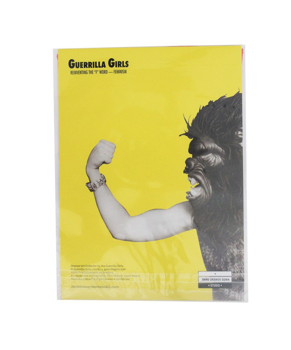 Dear Art Collector Handkerchief X Guerrilla Girls