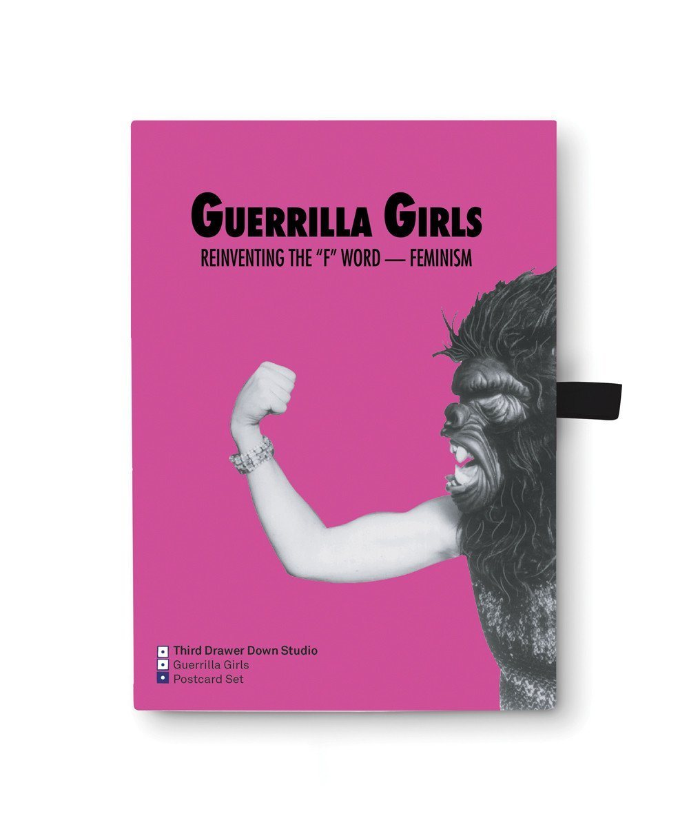 Postcard Box Set X Guerrilla Girls Paper Third Drawer Down Studio