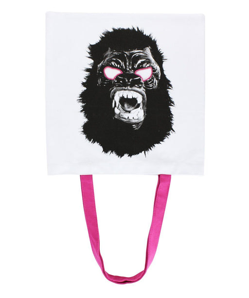 Third Drawer Down X Guerrilla Girls, Gorilla Mask Tote Bag