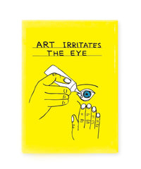 Art Irritates The Eye Magnet x David Shrigley