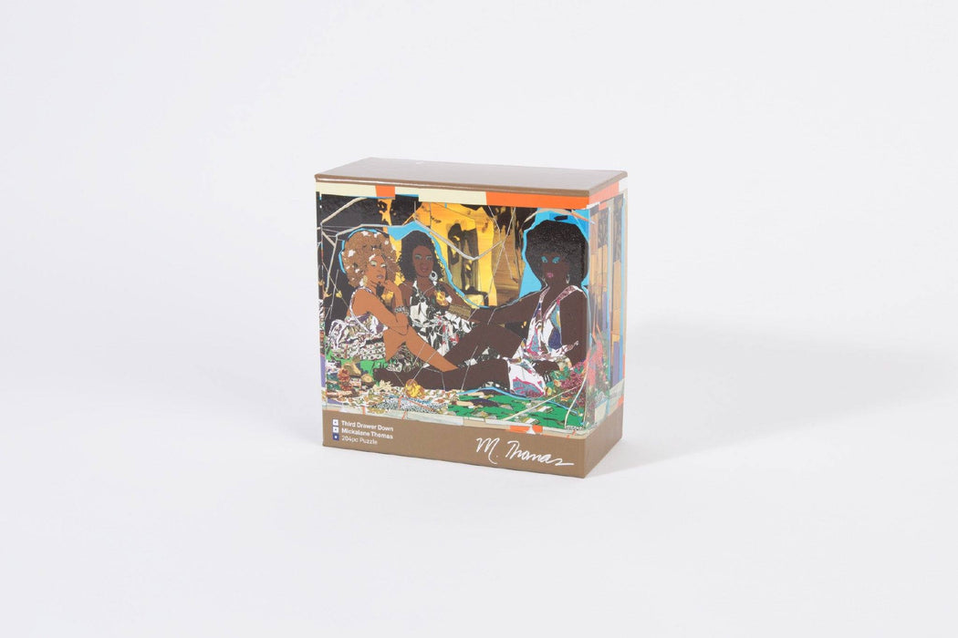 Third Drawer Down X Mickalene Thomas, Le Dejeuner Jigsaw Puzzle Paper Third Drawer Down Studio Default