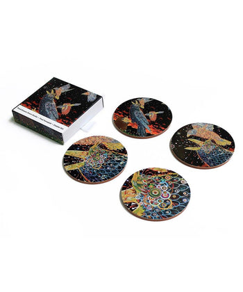 Mob Coaster Set x Fred Tomaselli Wood Third Drawer Down Studio Default
