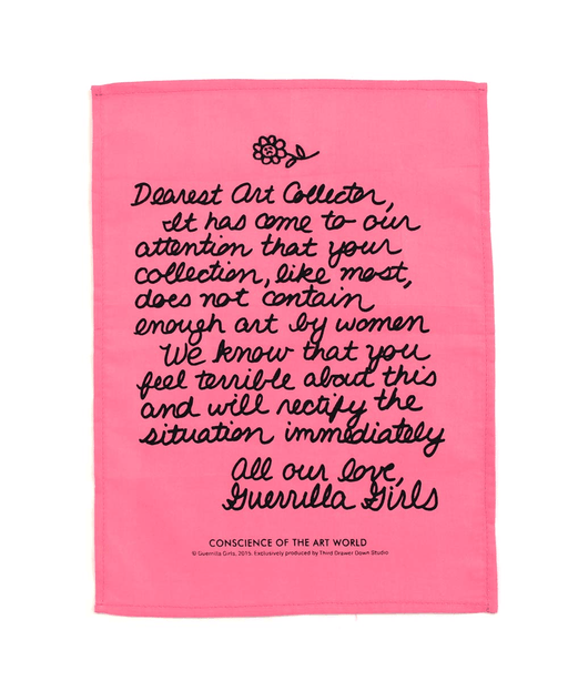 Dear Art Collector by the Guerrilla Girls