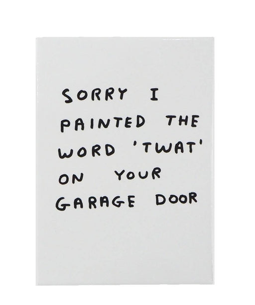 Twat Magnet X David Shrigley Plastic Third Drawer Down Studio Default Title