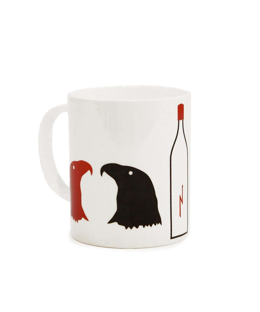 Eagle Mug x Marcel Broodthaers Ceramic Third Drawer Down Studio Default