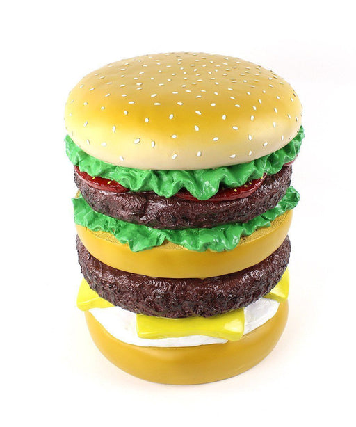 Giant Hamburger Stool Plastic Third Drawer Down Studio Default