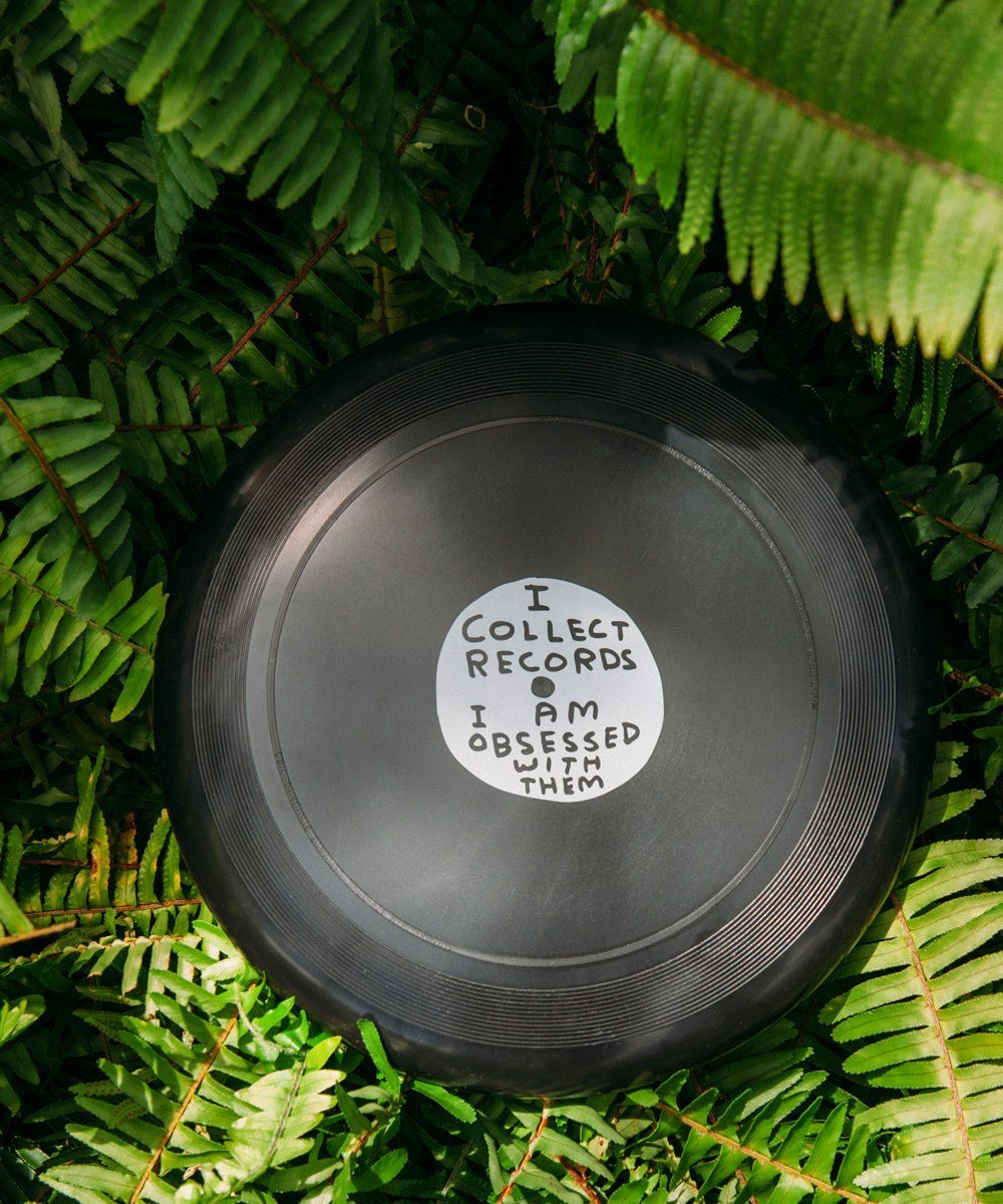 Collect Records Frisbee x David Shrigley