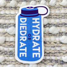 Load image into Gallery viewer, Blue Hydrate Or Diedrate Sticker