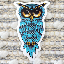 Load image into Gallery viewer, Blue Owl Sticker