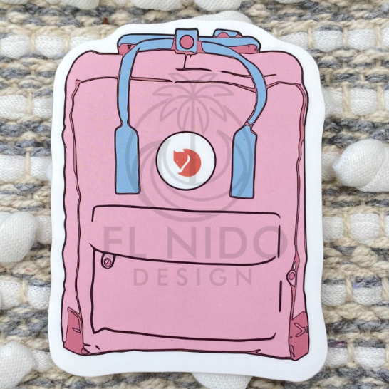 Pink Bag Sticker