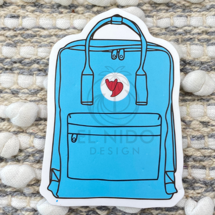 Blue Bag Sticker
