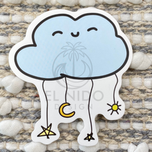 Load image into Gallery viewer, Blue Cloud Sticker