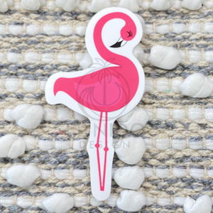 Pink Flamingo Sticker