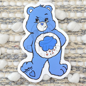 Blue Bear Sticker
