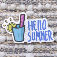 Load image into Gallery viewer, Hello Summer Sticker